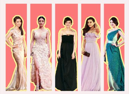 惊艳!上海电影节红毯上的星座美女