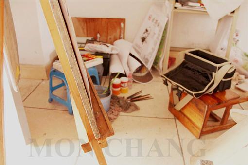 MON CHANG.、自拍、绘画、摄影、人物